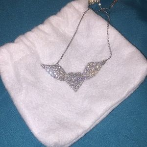 Jewelry - Heart with wings necklace